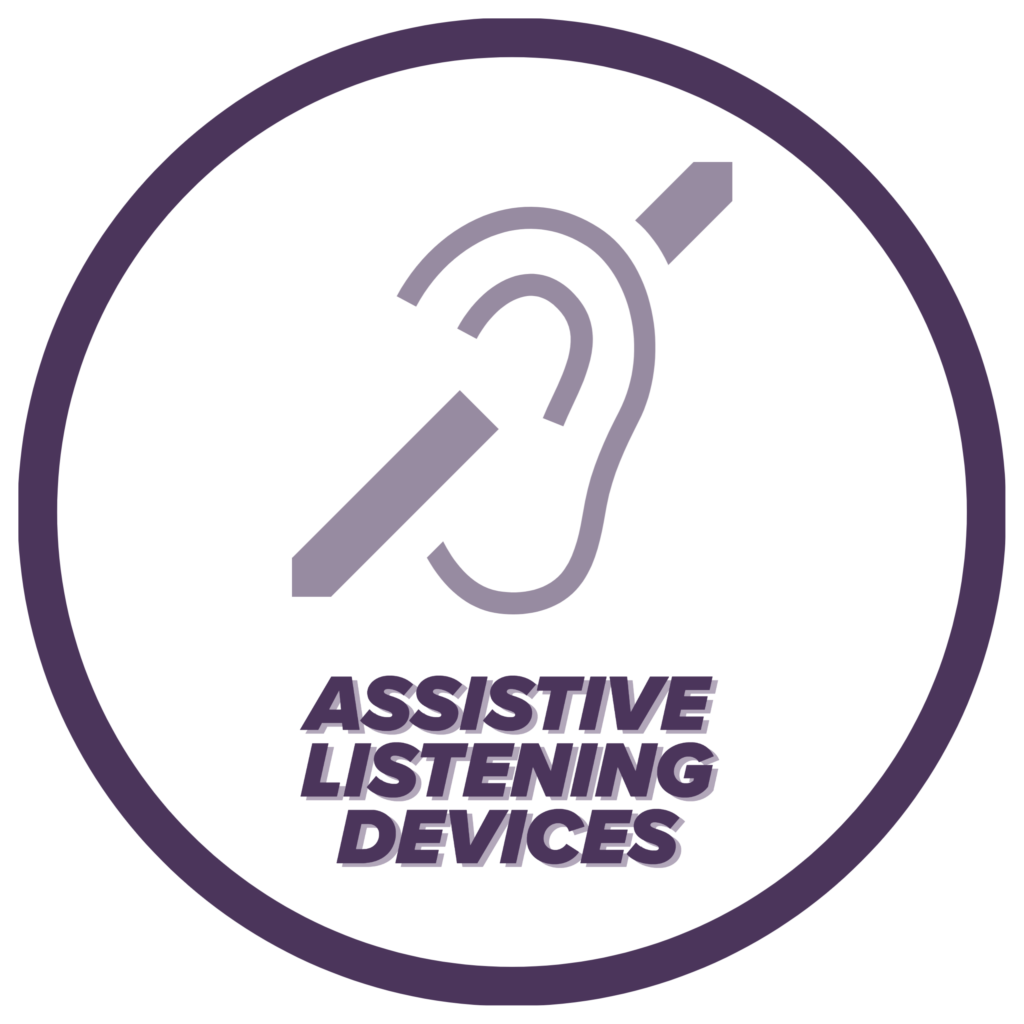 Assistive Listening Devices icon, click for more