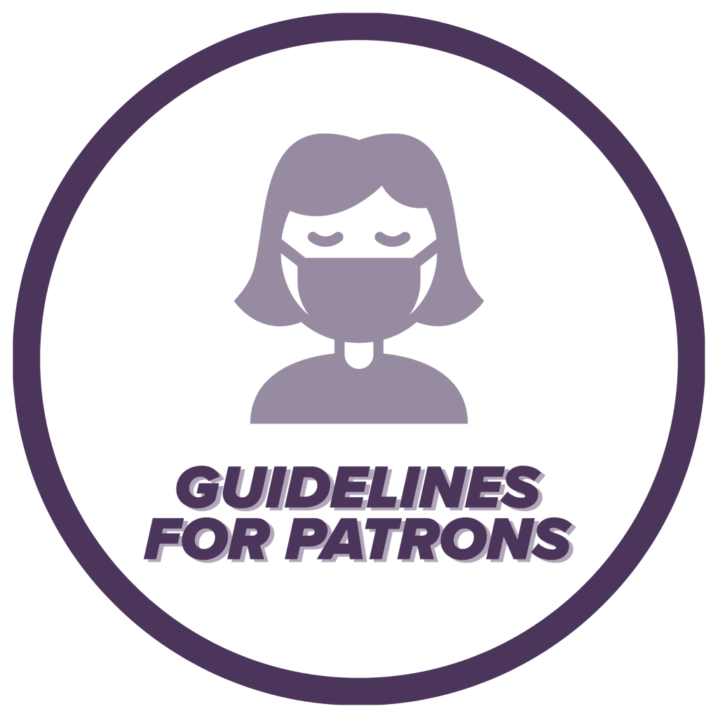 Guidelines for Patrons icon