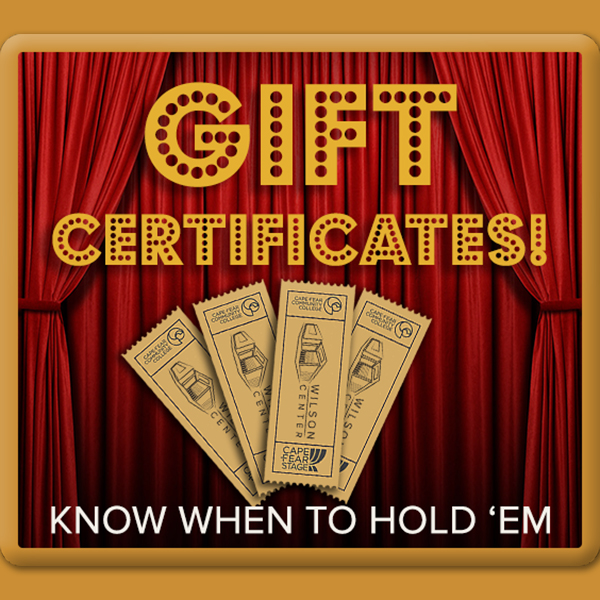 The Gift That ALWAYS Fits -- Gift Certificates!
