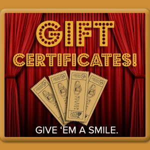 Gift Certificates - The Perfect Gift!