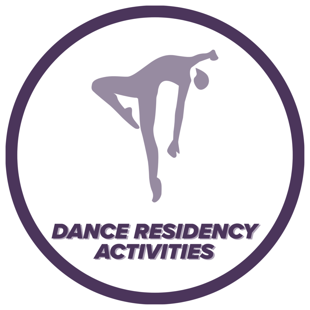 Dance Residency Activities icon, click to learn more