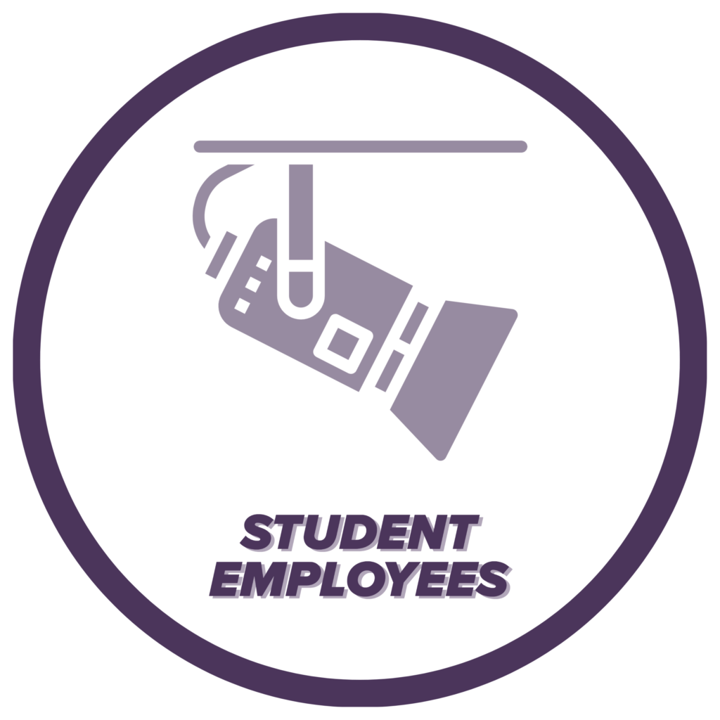 Student Employees icon, click to learn more